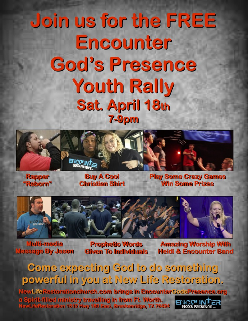 Encounter NewLife Restoration Rally !!!