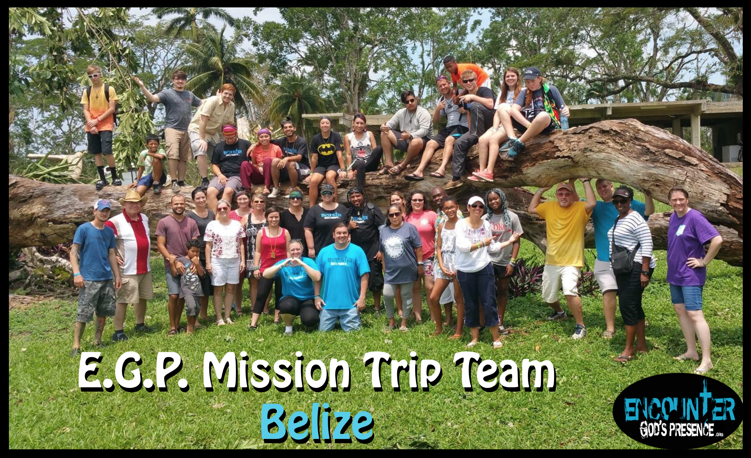 EGP Mission's Trip Team 2016 Belize tree